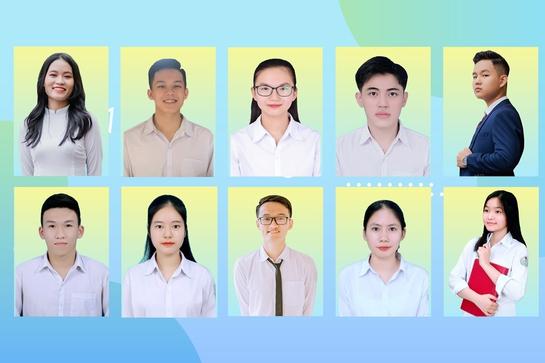 10 gương mặt học sinh Hà Tĩnh được xét tuyển thẳng đại học năm 2021