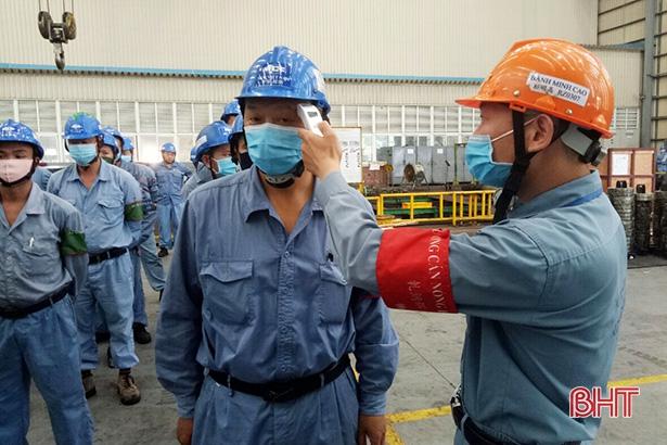 Formosa Hà Tĩnh nghiêm ngặt phòng dịch, chuẩn bị tốt khu vực bỏ phiếu bầu cử