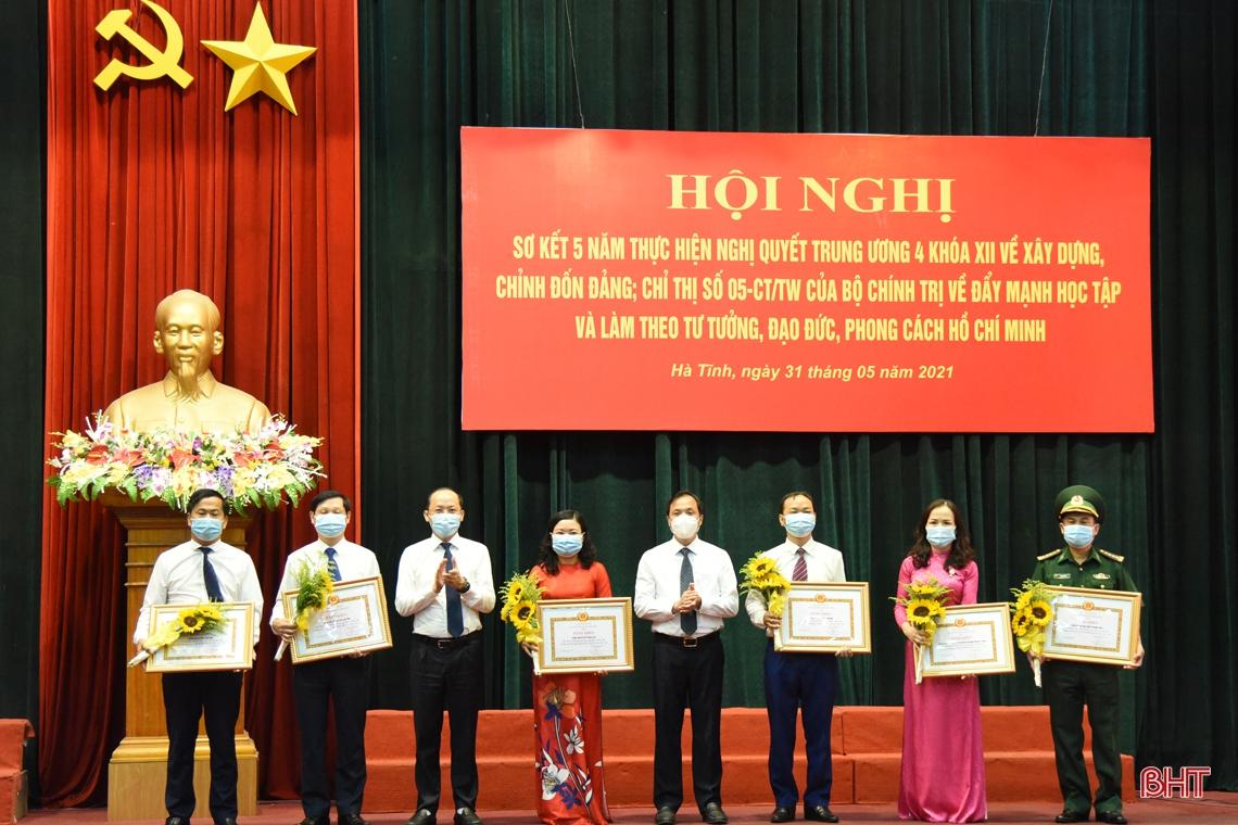 Nghị quyết Trung ương 4 và Chỉ thị 05 là động lực lớn để Hà Tĩnh khơi dậy ý chí, sức mạnh của cán bộ, đảng viên và các tầng lớp Nhân dân