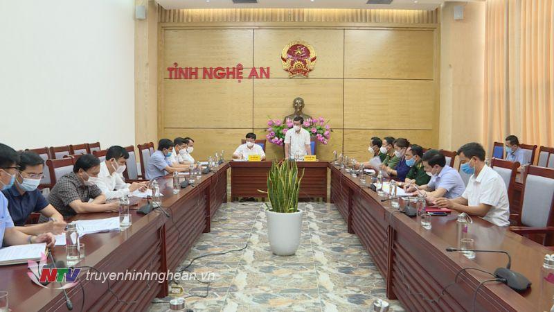 Từ 0h ngày 8/6 Nghệ An dừng các hoạt động thiết yếu tại 5 địa phương giáp ranh tỉnh Hà Tĩnh