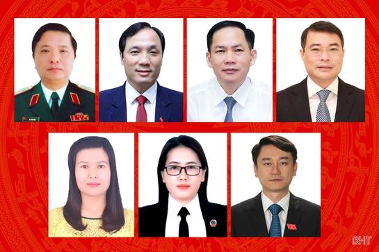 Chân dung 7 đại biểu Quốc hội khóa XV được bầu tại Hà Tĩnh