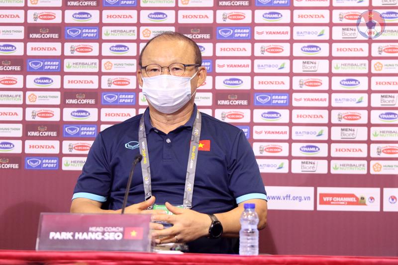 HLV Park Hang-seo tin tưởng vào sự chuẩn bị của ĐT Việt Nam cho mục tiêu chiến thắng trước Malaysia
