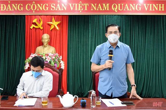 Thiết lập vùng cách ly y tế toàn xã Thạch Kim và thị trấn Lộc Hà từ 12 giờ trưa nay