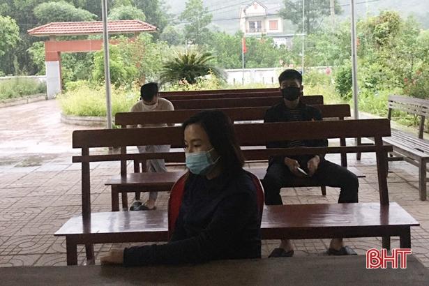 Vũ Quang xác định được 38 trường hợp F2 liên quan đến 2 ca bệnh ở Hương Sơn