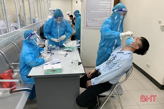 2.000 mẫu test nhanh Covid-19 của lao động Công ty Formosa Hà Tĩnh đều âm tính