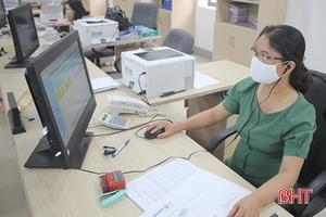 Các sở, ngành Hà Tĩnh khuyến nghị người dân, doanh nghiệp giao dịch hồ sơ trực tuyến