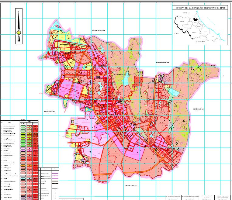 """Về việc lấy ý kiến góp ý của nhân dân về """"Lập quy hoạch sử dụng đất giai đoạn 2021-2030 thị xã Hồng Lĩnh"""""""
