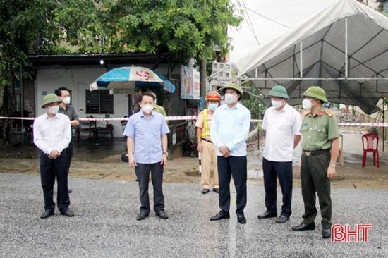Chủ tịch UBND tỉnh Hà Tĩnh chỉ đạo xử lý nghiêm cá nhân không hợp tác, cố tình khai báo không trung thực