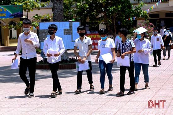 Hà Tĩnh công bố điểm thi vào lớp 10 năm học 2021-2022