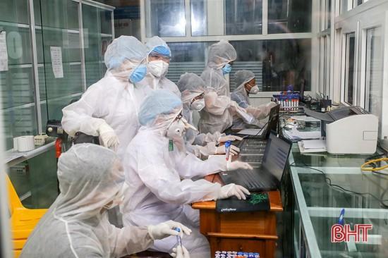 Hà Tĩnh: Hơn 59 ngàn mẫu xét nghiệm diện rộng âm tính với SARS-CoV-2