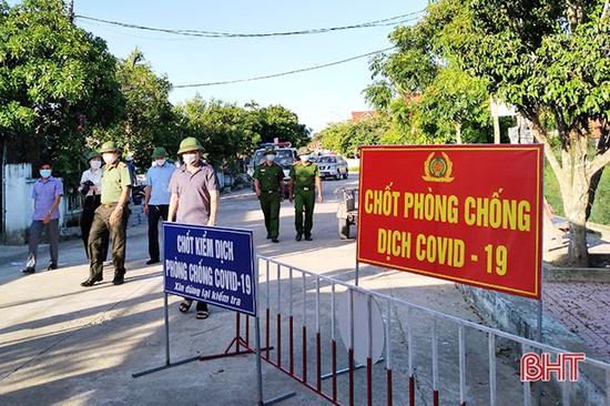 Hà Tĩnh: Thạch Hà tháo dỡ 3 chốt phong tỏa tại xã Việt Tiến | Cổng TTĐT  tỉnh Hà Tĩnh