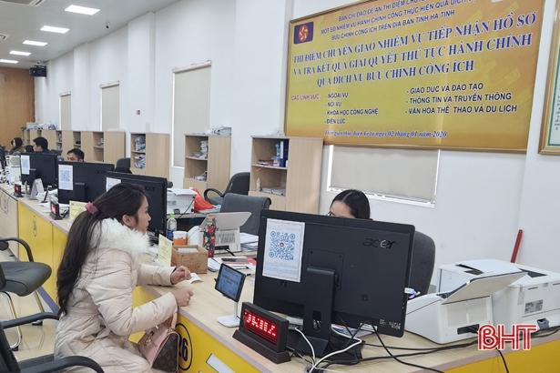 Hà Tĩnh mở rộng chuyển giao một số nhiệm vụ hành chính công qua dịch vụ bưu chính