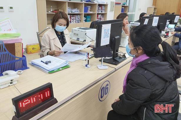 92% hồ sơ hành chính ngành Y tế Hà Tĩnh được trả qua bưu chính công ích