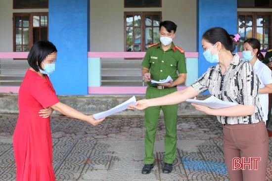 171 công dân hoàn thành thời gian cách ly y tế tập trung ở Thạch Hà