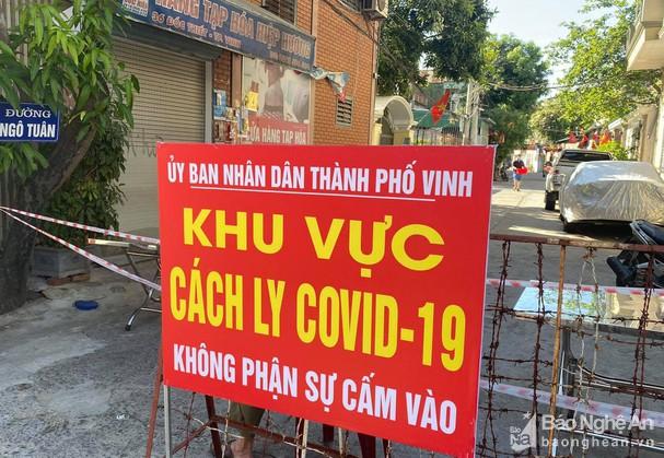 Sáng 27/6, Nghệ An có 6 ca nhiễm Covid-19 mới, là F1 chuyển thành F0