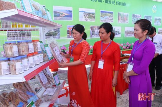 Lộc Hà phát triển sản phẩm OCOP dựa trên lợi thế sản xuất và đặc sản vùng