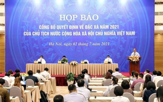 Công bố quyết định về đặc xá năm 2021 của Chủ tịch nước