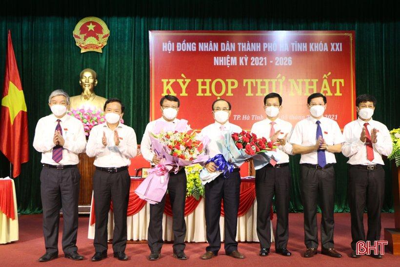 Bí thư Thành ủy Dương Tất Thắng giữ chức Chủ tịch HĐND TP Hà Tĩnh