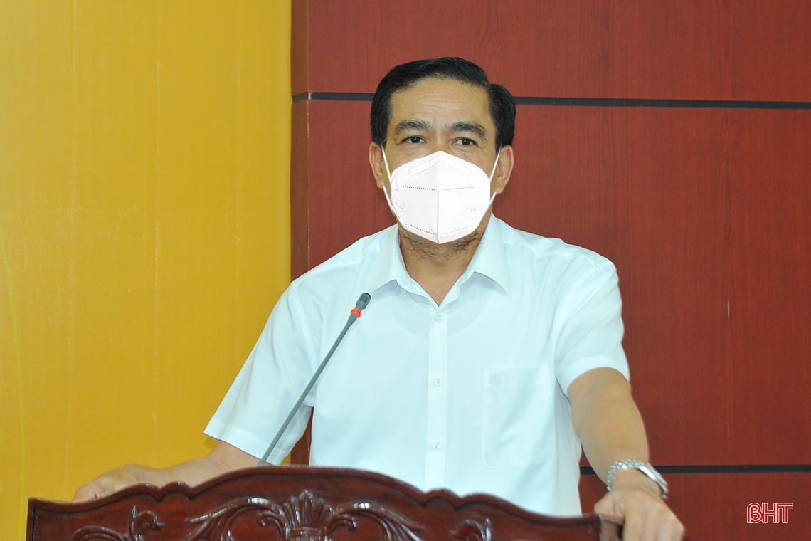 Các địa phương ở Hà Tĩnh phải vào cuộc quyết liệt giải ngân vốn đầu tư công