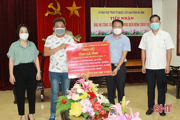 Hà Tĩnh tiếp nhận 82 tỷ đồng ủng hộ phòng, chống dịch Covid-19