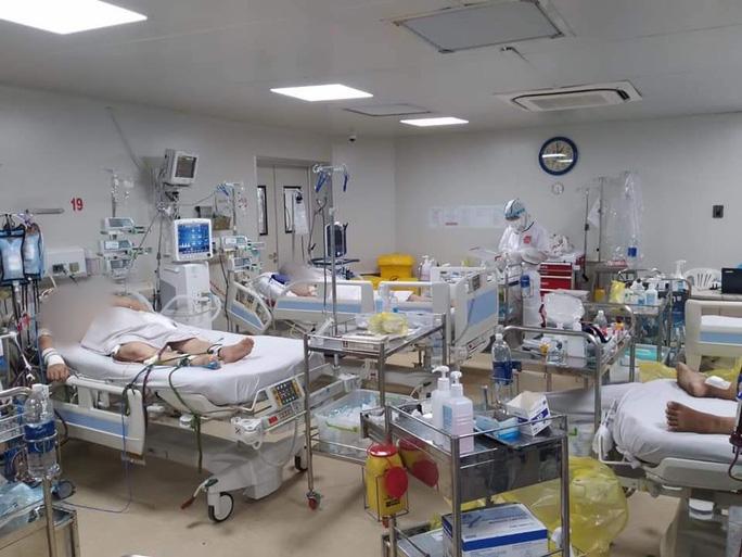 Thêm 5 ca tử vong do COVID-19, trong đó 3 ca không có bệnh lý nền