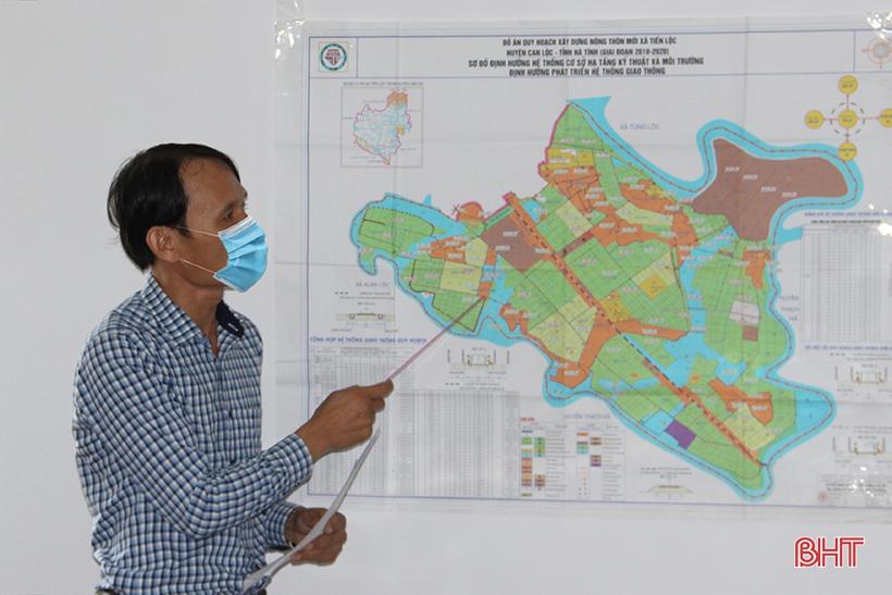 Soát xét việc đặt tên cho 25 tuyến đường tại huyện Can Lộc và Đức Thọ