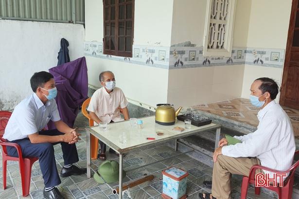 Hà Tĩnh: Gần 9.000 tổ Covid cộng đồng kịp thời vào cuộc giám sát người về từ TP Hồ Chí Minh