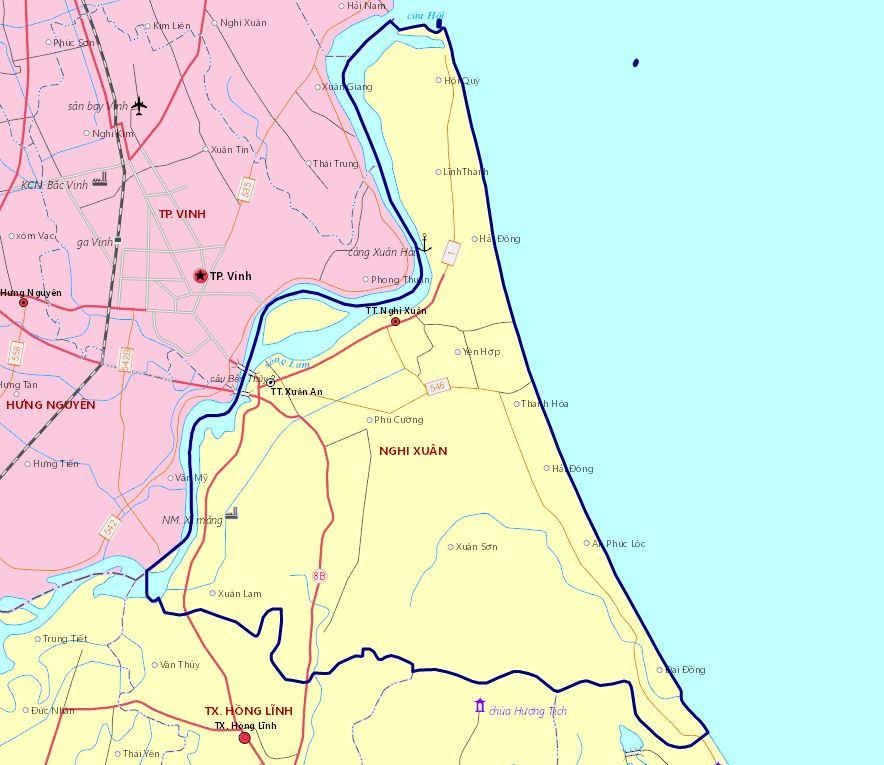 Về việc lấy ý kiến đóng góp của nhân dân đối với phương án Quy hoạch sử dụng đất giai đoạn 2021-2030 huyện Nghi Xuân
