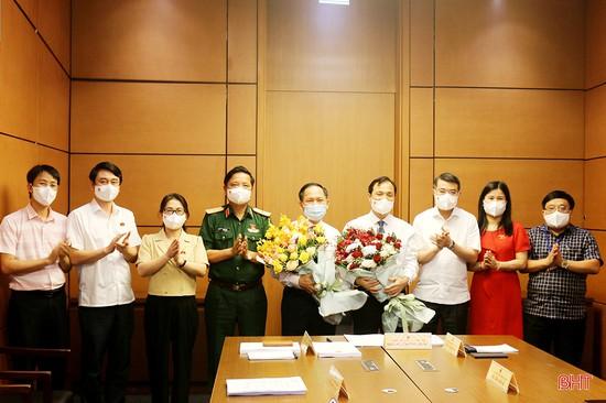 Bí thư Tỉnh ủy Hoàng Trung Dũng được bầu giữ chức Trưởng đoàn Đại biểu Quốc hội Hà Tĩnh khóa XV
