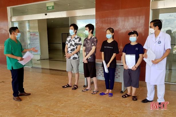 Hà Tĩnh có 98 bệnh nhân COVID-19 đã khỏi bệnh