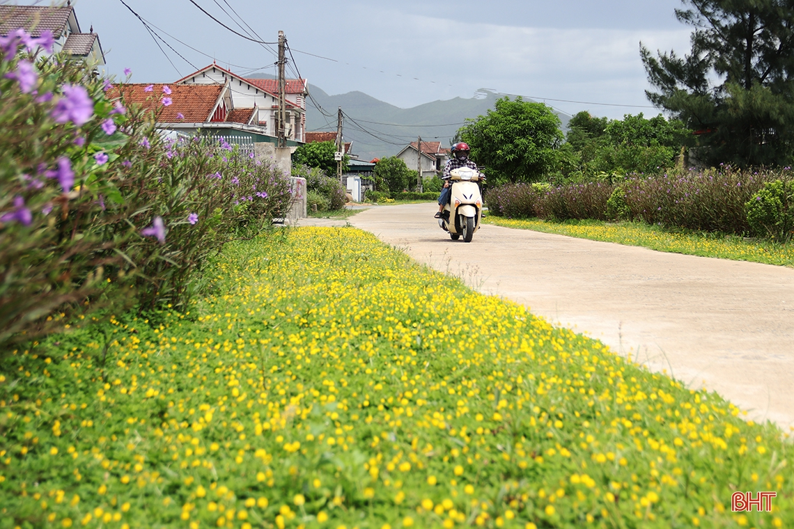 Nhân dân đồng lòng, xã vùng biển Hà Tĩnh tự tin đạt chuẩn NTM nâng cao