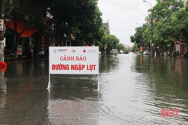 Dự báo những ngày tới, Hà Tĩnh sẽ có mưa rất to, nguy cơ cao xảy ra ngập lụt