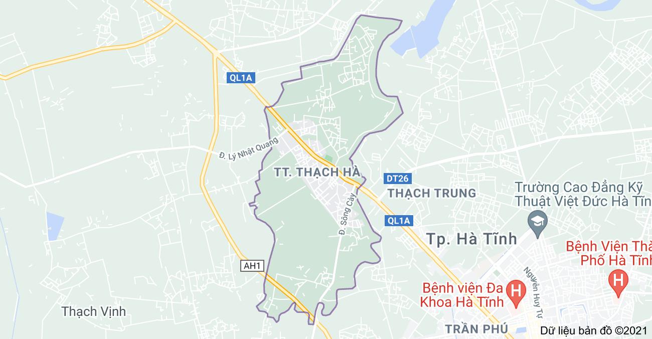 Về việc lấy ý kiến đóng góp của nhân dân đối với phương án Quy hoạch sử dụng đất giai đoạn 2021-2030 huyện Thạch Hà