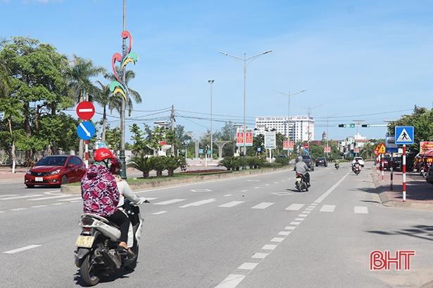 Đặt tên 23 đường phố, thị trấn Thạch Hà bắt nhịp xây dựng đô thị loại IV