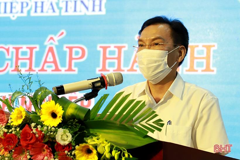 """Mong doanh nghiệp Hà Tĩnh thể hiện rõ vai trò """"xương sống"""" của nền kinh tế"""