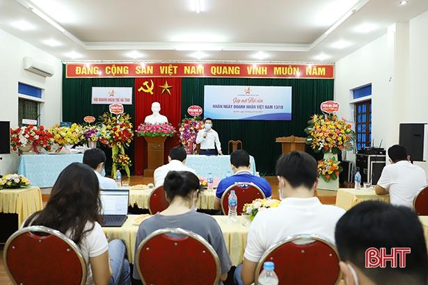 Hội Doanh nhân trẻ Hà Tĩnh gặp mặt nhân ngày 13/10