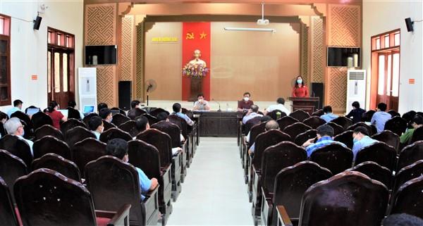 Hương Khê: Tháo gỡ khó khăn, vướng mắc cho 3 xã phấn đấu đạt chuẩn NTM năm 2022 - 2023