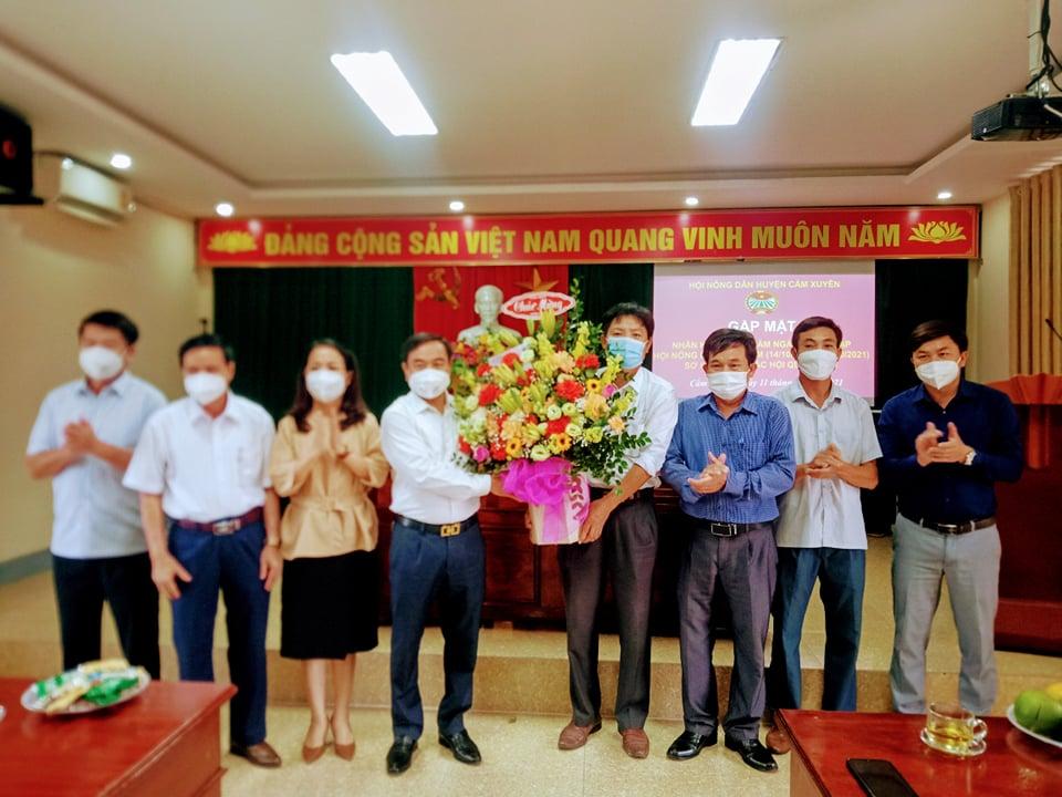 Cẩm Xuyên : Hội Nông dân tổ chức gặp mặt kỷ niệm 91 năm ngày thành lập