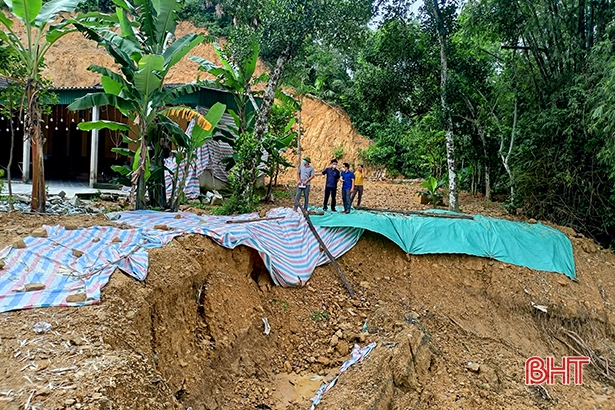 Hương Sơn xác định 20 vùng có nguy cơ sạt lở đất