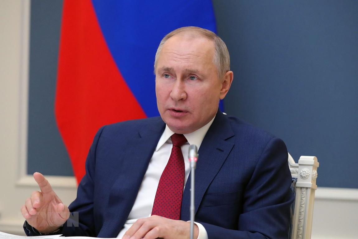 Tổng thống Putin tuyên bố Nga sẽ trung hòa carbon trước năm 2060