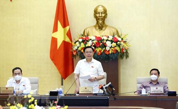 Bế mạc phiên họp lần thứ 4 của Ủy ban Thường vụ Quốc hội