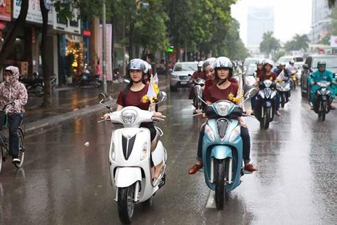 Xe máy sẽ phải dán tem công bố mức tiêu thụ năng lượng như ô tô