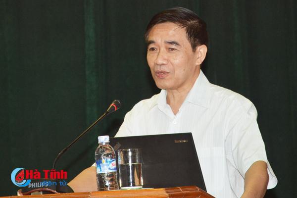Truyền đạt 5 chuyên đề kiểm tra, giám sát, kỷ luật Đảng cho cán bộ Hà Tĩnh