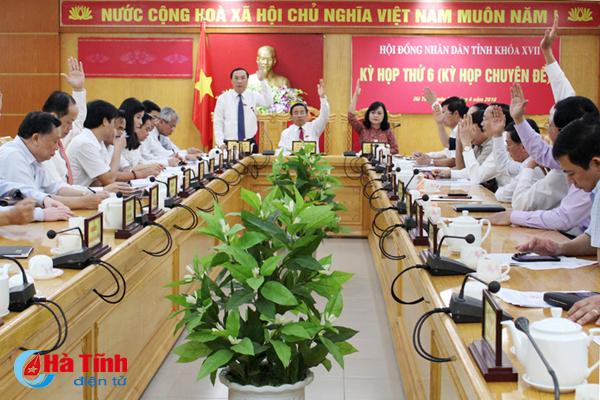 HĐND tỉnh Hà Tĩnh thông qua Nghị quyết thành lập thị trấn Đồng Lộc